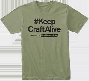 #KeepCraftAlive tshirt