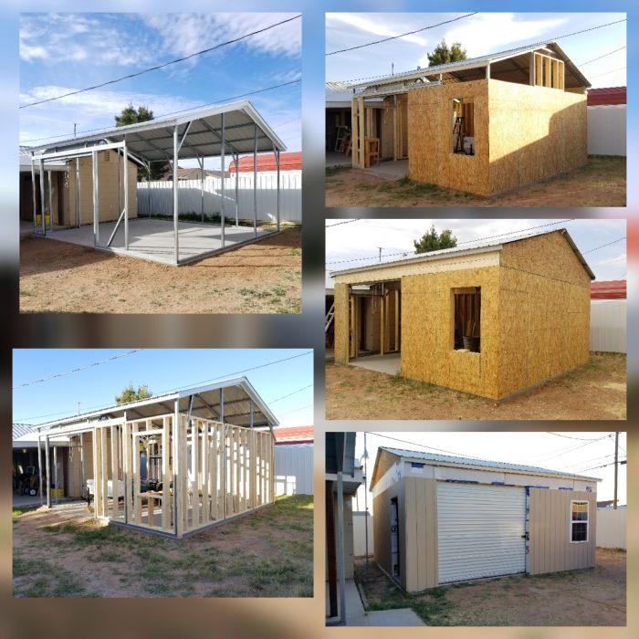 Metal Carport Into A Home Fine Homebuilding