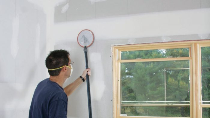 The Drywall Sanding Process