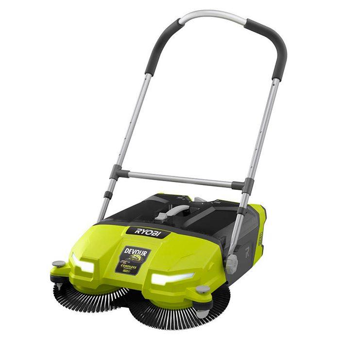 RYOBI sweeper