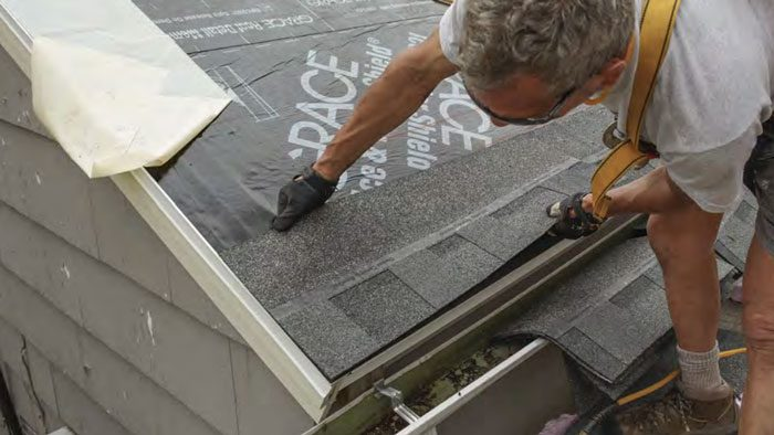 how to install asphalt shingle roof