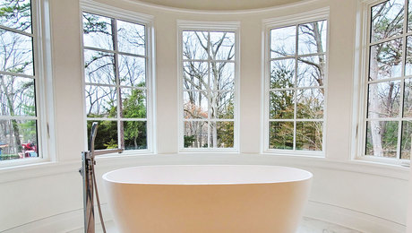 Trim Out a Curved Bay