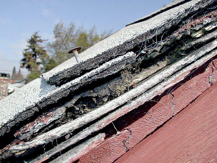 layers of shingles