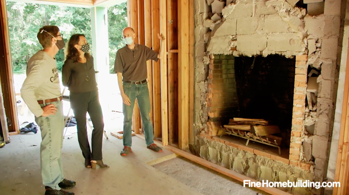 Fireplace goes energy efficient