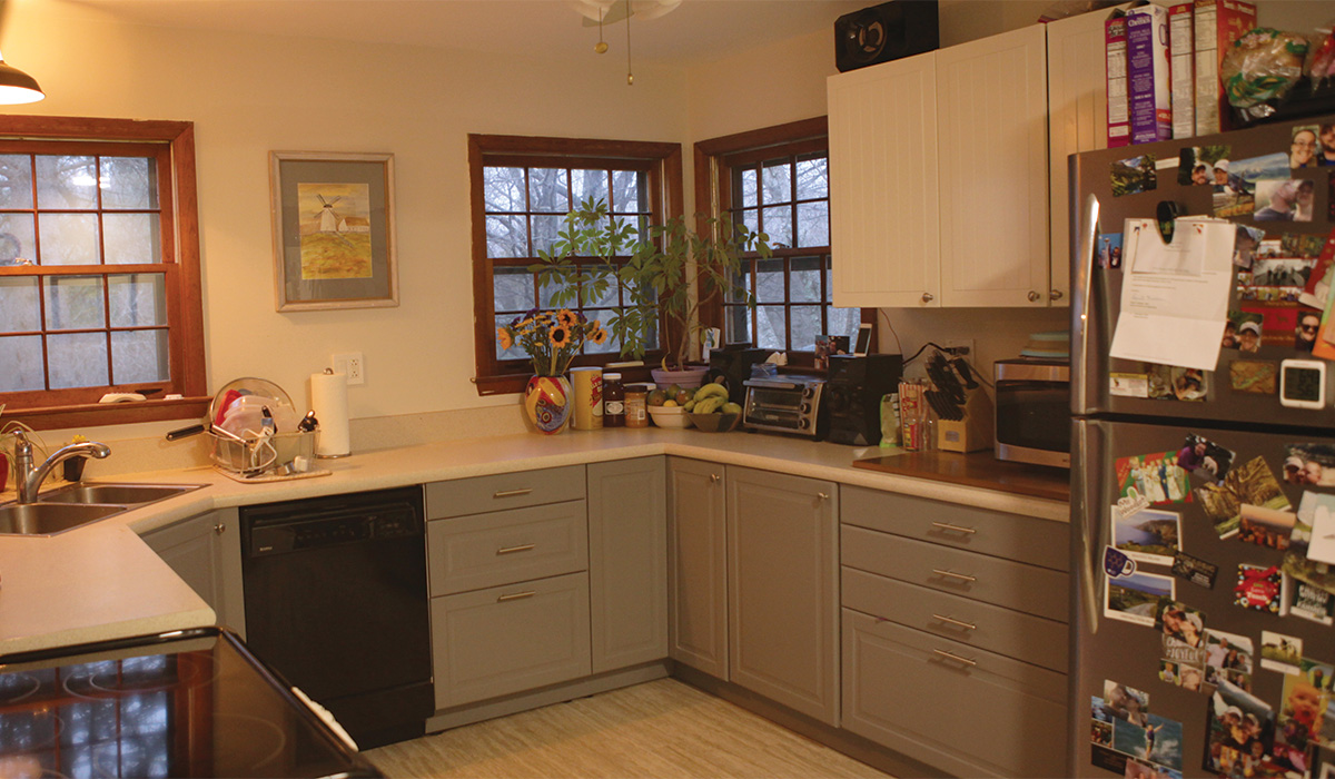 kitchen in need of remodel