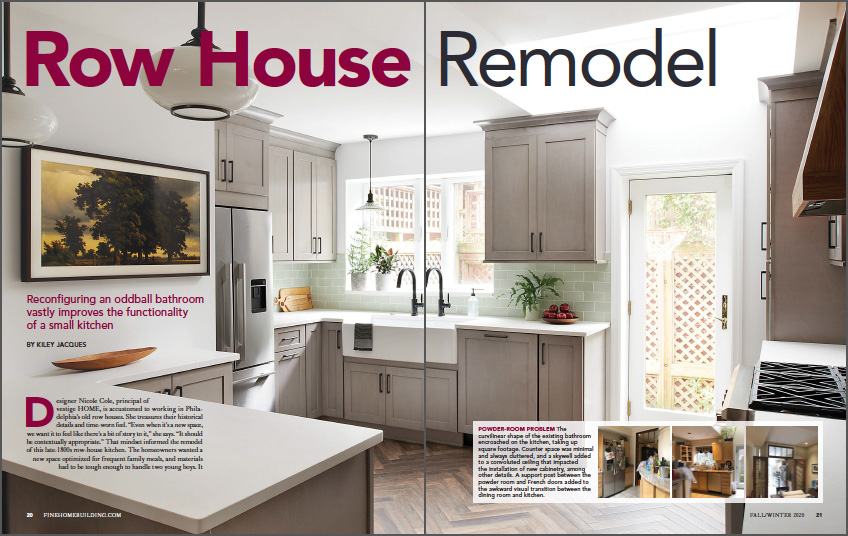 row house remodel