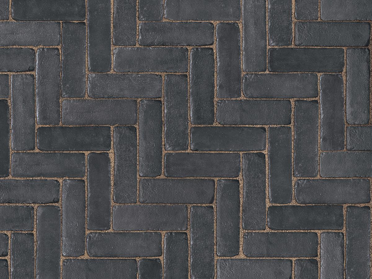 Copthorne concrete pavers black