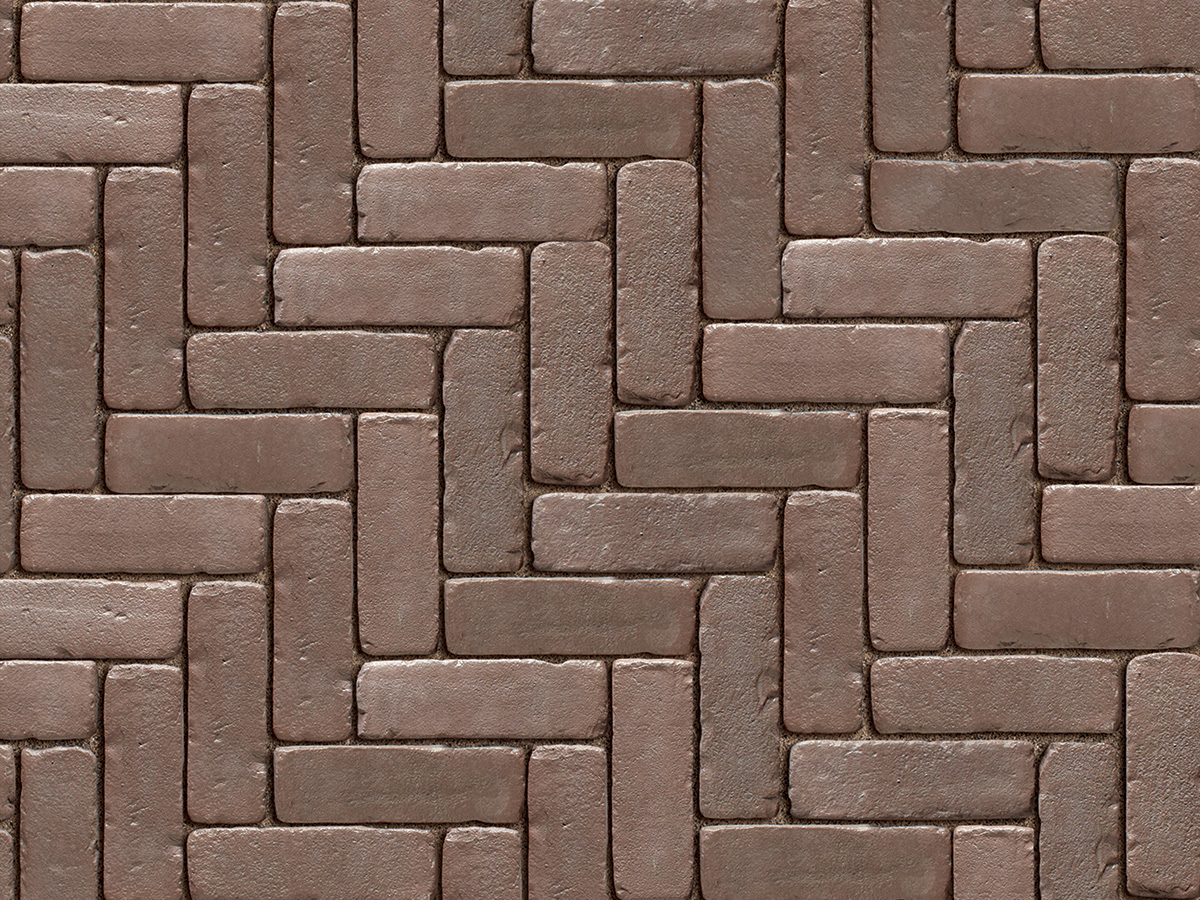 Copthorne concrete pavers bronze