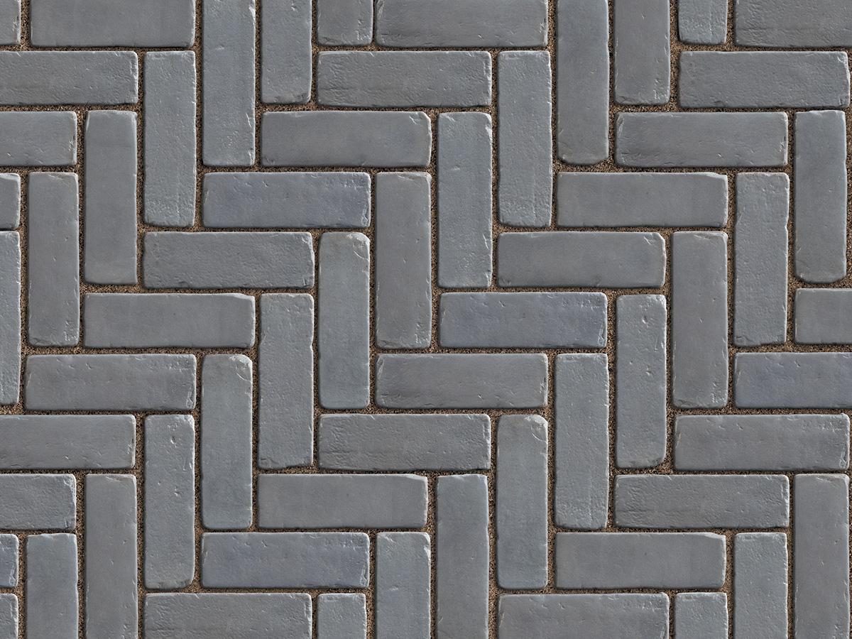 Copthorne concrete pavers gray