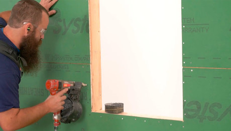 Installing ZIP System Sheathing: Fastening
