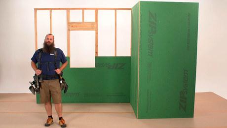 Shop Class—Installing ZIP System Sheathing