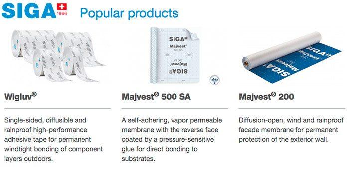 SIGA popular products