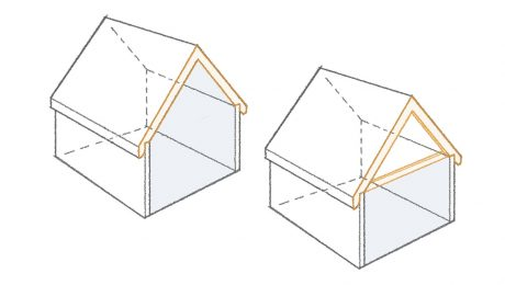 rafters vs. trusses