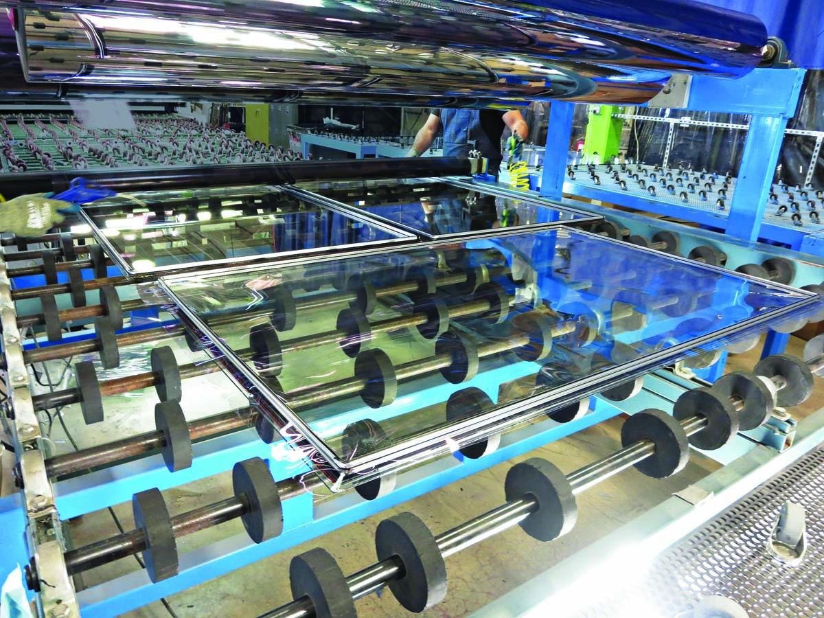 Alpen's production line