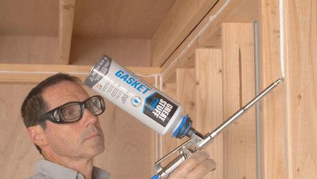 airtight drywall gasket foam