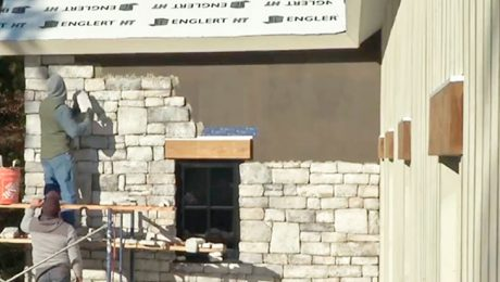 Eldorado Stone veneer installation