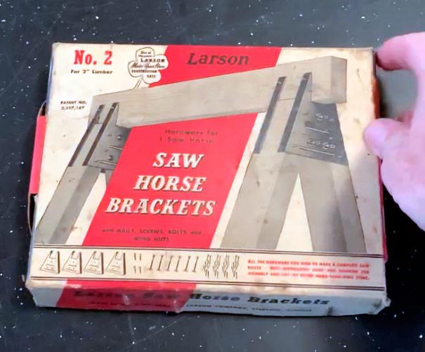 saw horse brackets