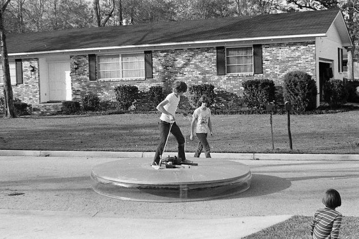 Brad's flying saucer