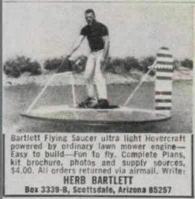 Bartlett Flying Saucer