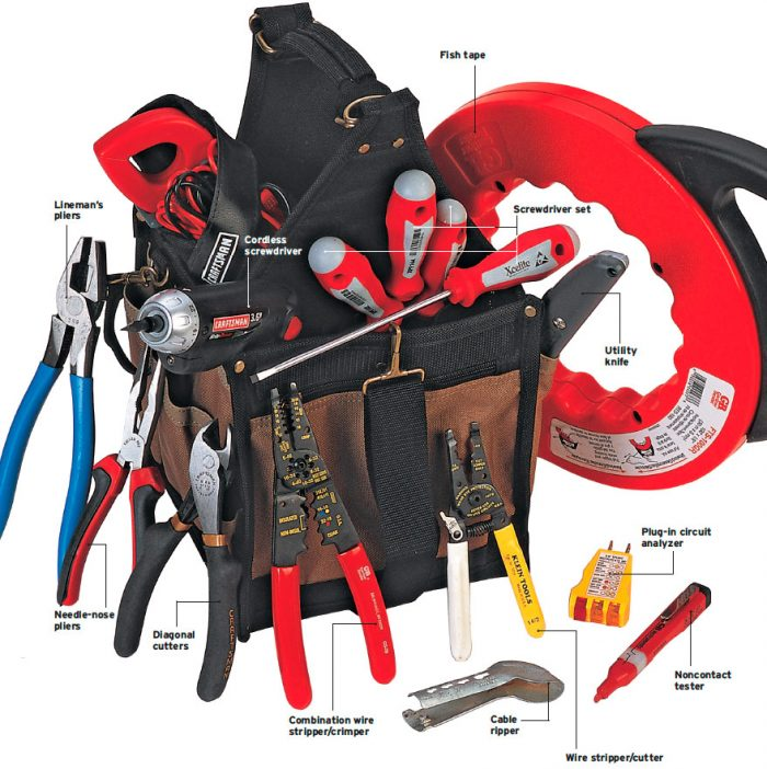 electrician's toolbox
