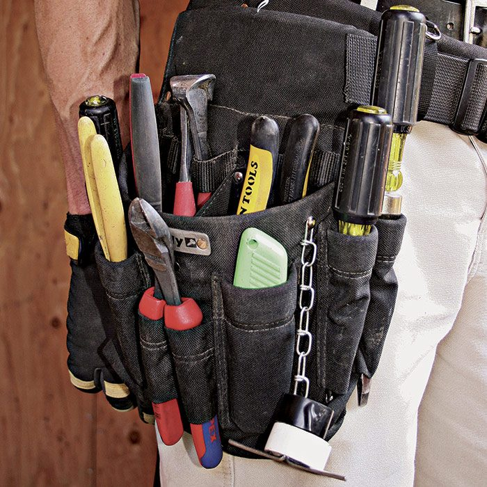 electrician's toolbelt