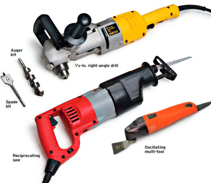 electrician's power tools