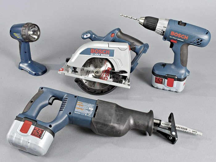 electriciam's cordless power tools