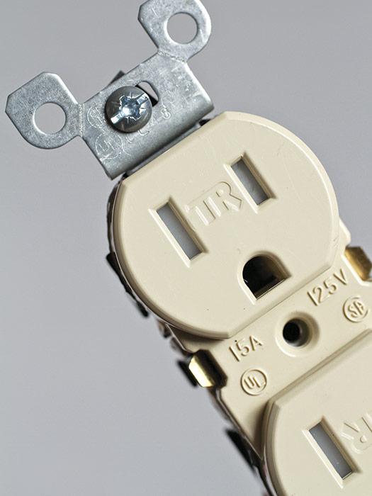 Tamper-resistant (TR) receptacles