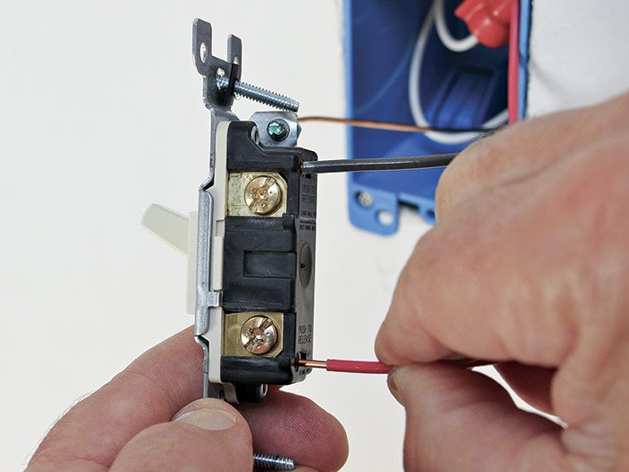 Back-wired switches