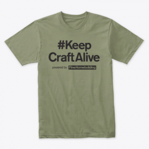 Keep Craft Alive shirt