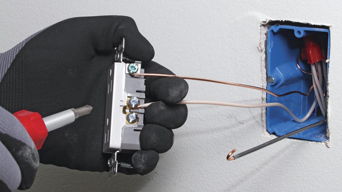 Wiring a Duplex Receptacle