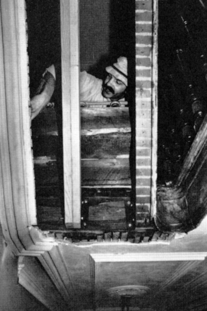 renovating a staircase