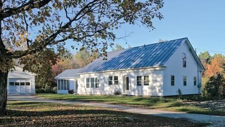 Retrofit of a Timber-Frame Farmhouse
