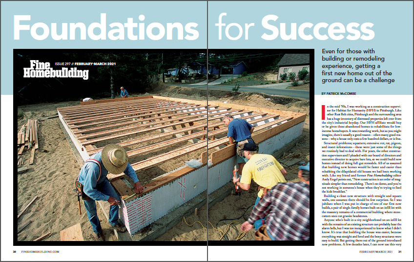 Foundations for Success Spread Img