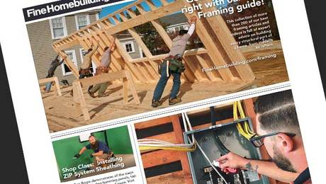 Fine Homebuilding Issue #297 Online Highlights