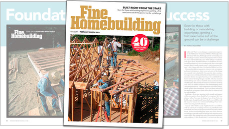 Fine Homebuilding Issue 297