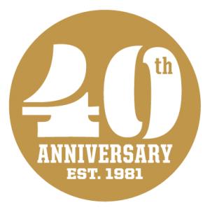FHB 40th Anniversary logo