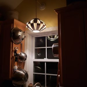 Patrick's UFO light