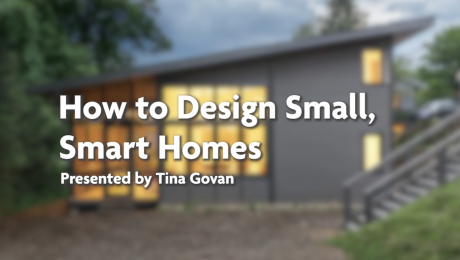 How to design small, smart homes