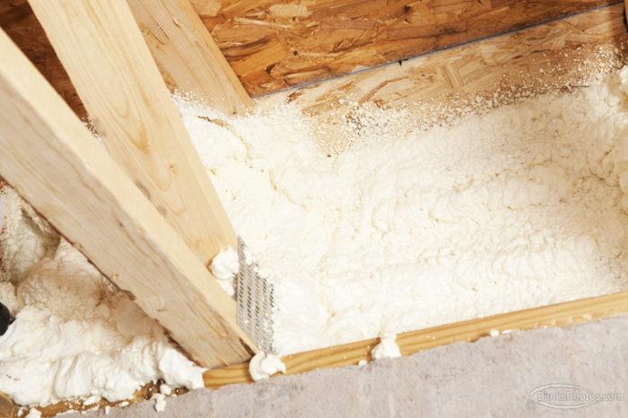 spray polyurethane foam-insulation