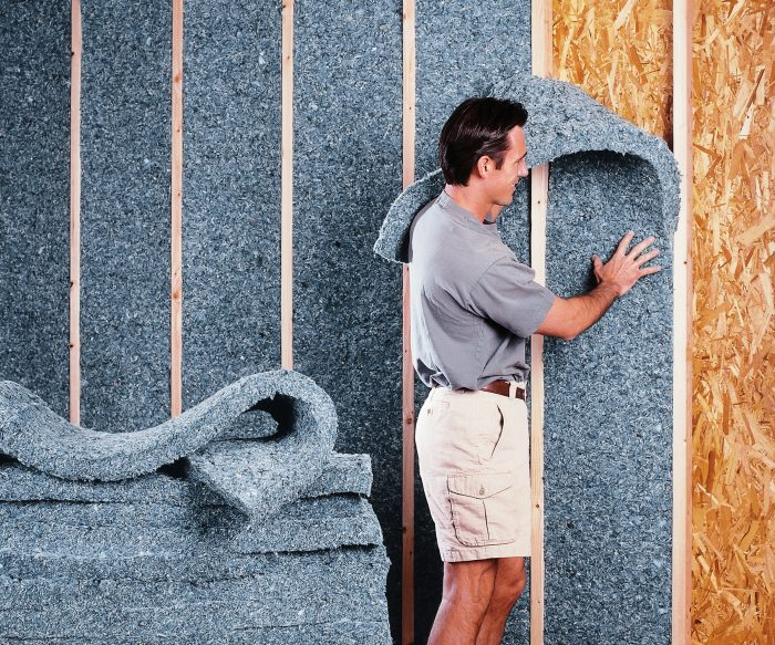 Cotton batt insulation