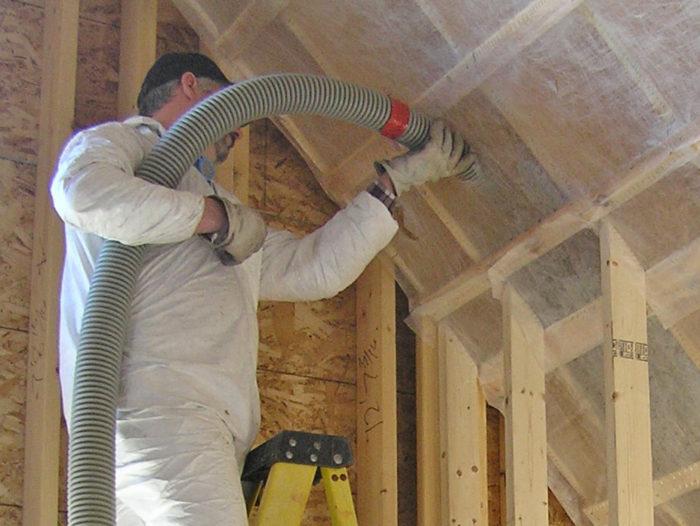 Cellulose-insulation