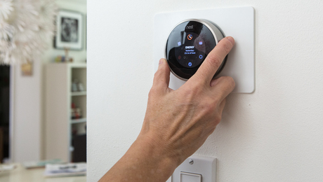 Photo of Nest thermostat