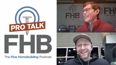 Podcast 331: PRO TALK With Cabinetmaker Ben Scott