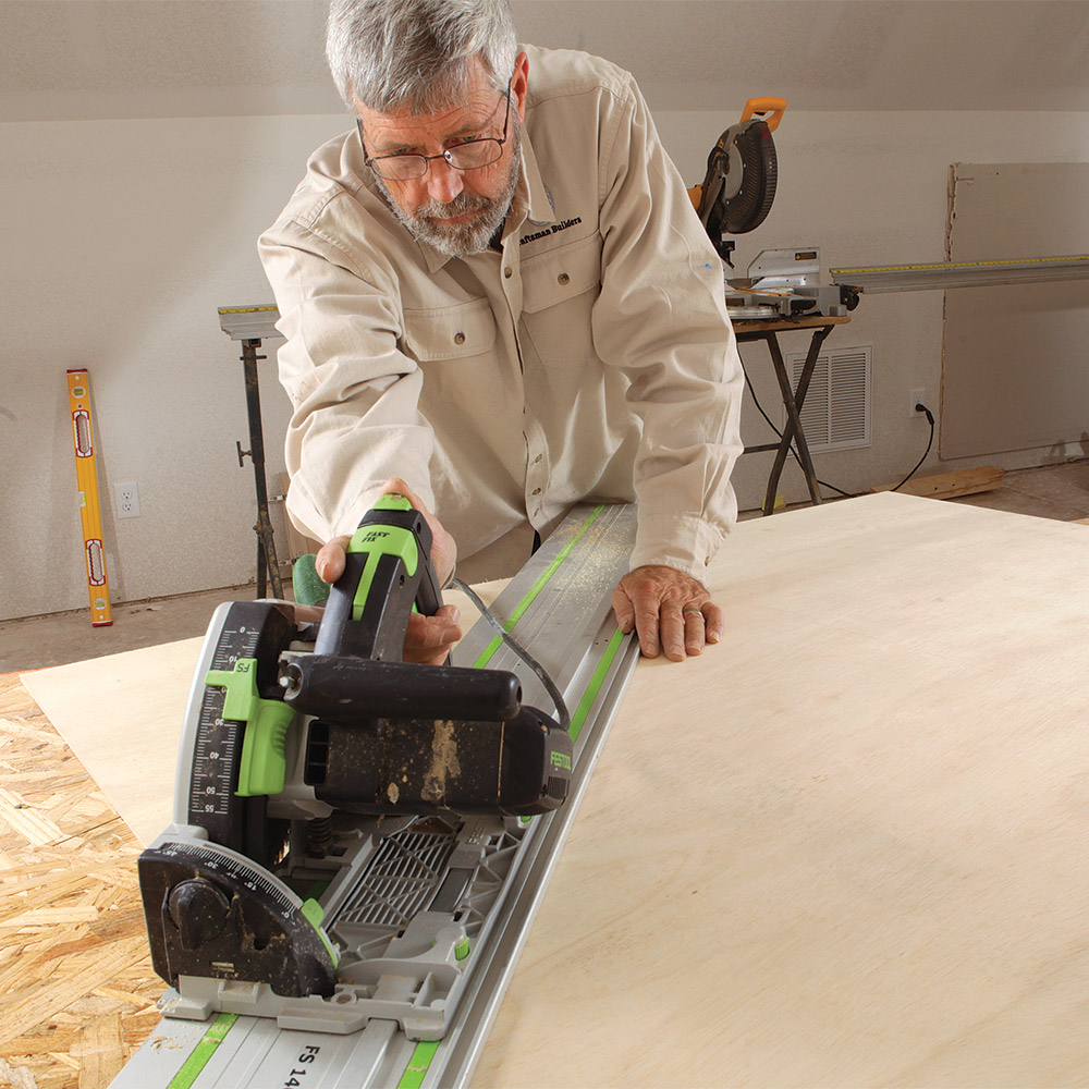 Measure the lengths on the wall, transfer them to the plywood back