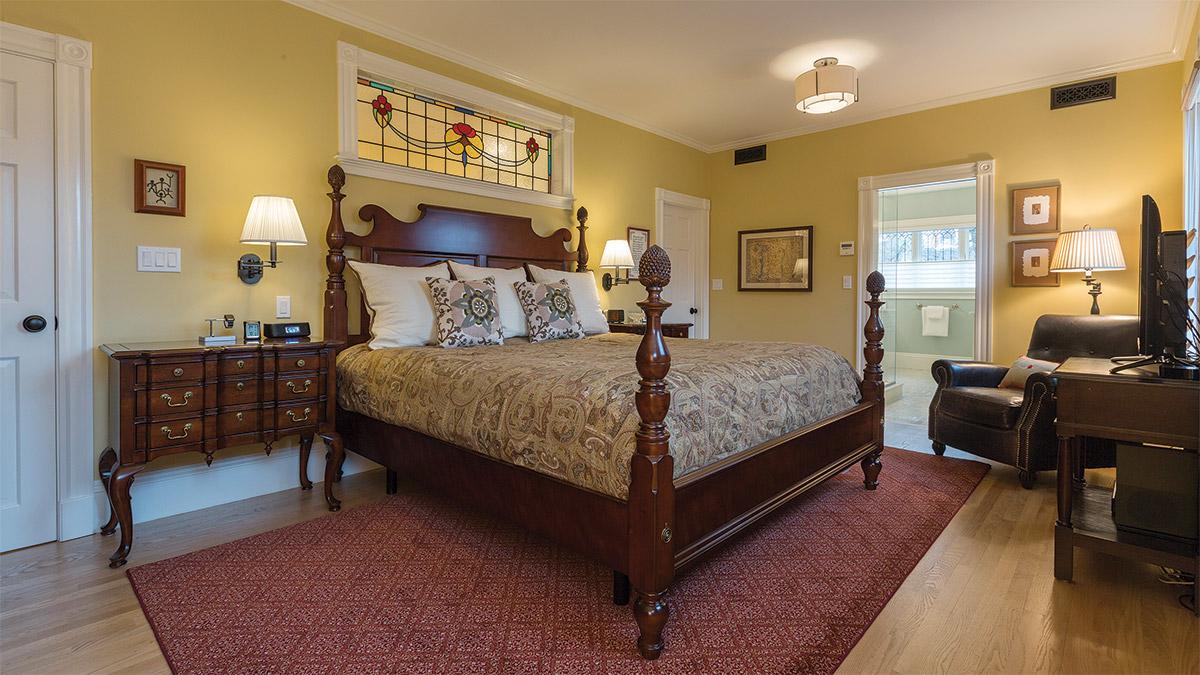 redesigned bedroom