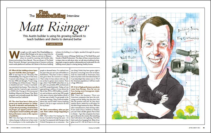 The Fine Homebuilding Interview: Matt Risinger