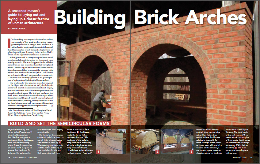 Building Brick Arches
