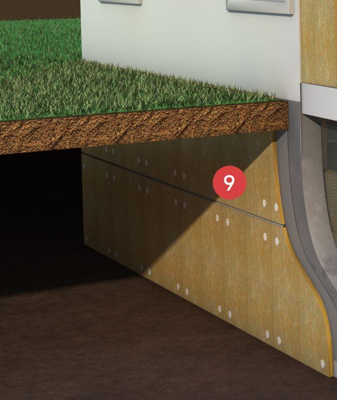 Exterior-basement-insulation-Rockwool