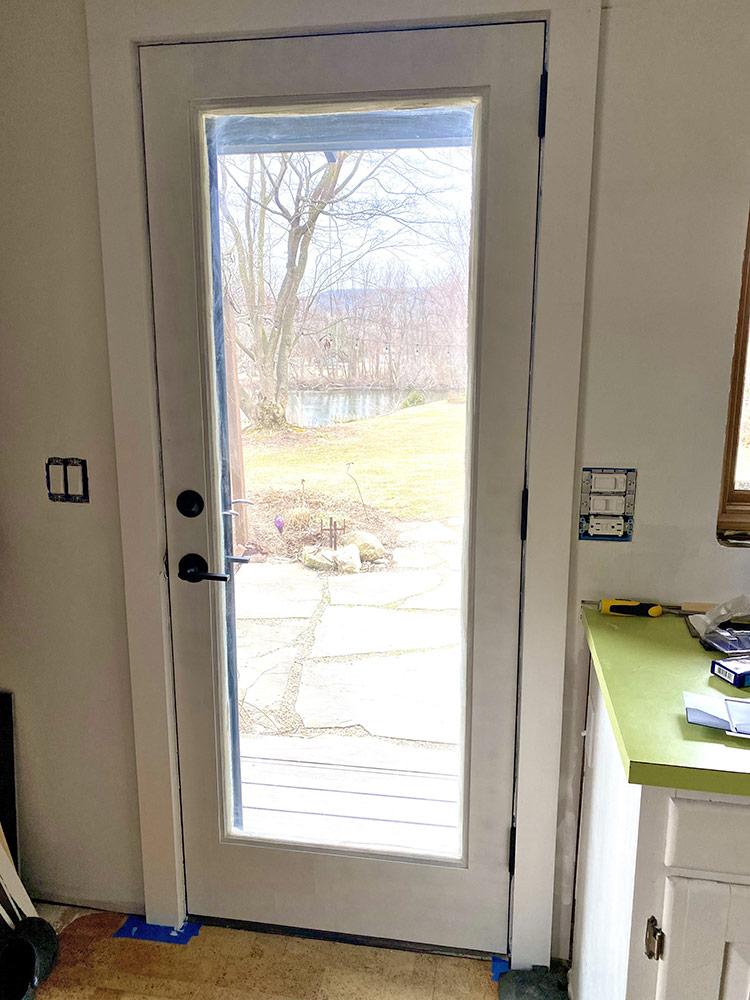 rob's new door
